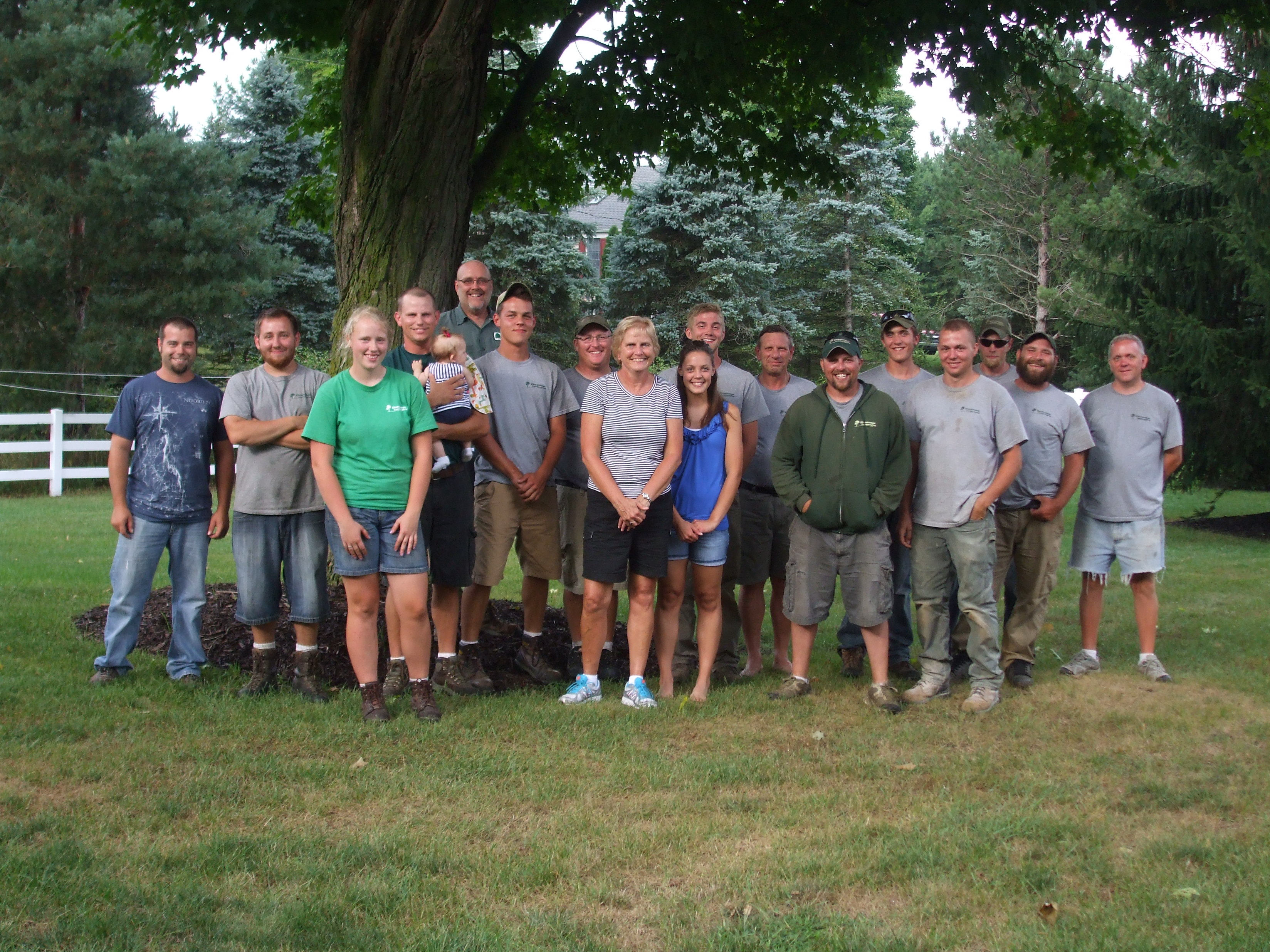 residential and commercial landscaping company caledonia mi